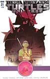 Teenage Mutant Ninja Turtles Universe #21 Cover B Variant Mark Torres Cover