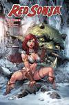 Red Sonja Vol 7 #16 Cover C Variant Art Thibert Cover