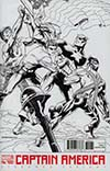 Captain America Vol 8 #700 Cover B Variant Jim Steranko Black & White Cover
