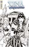 Xena Vol 2 #3 Cover D Incentive Vicente Cifuentes Black & White Cover