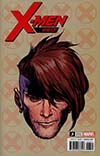 X-Men Red #3 Cover D Incentive Travis Charest Headshot Variant Cover