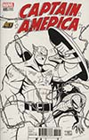 Captain America Vol 8 #695 Cover K Exclusive ACE Universe Billy Martin Homage Sketch Cover