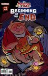 Adventure Time Beginning Of The End #1 Cover B Variant Diigii Daguna Subscription Cover