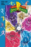 Mighty Morphin Power Rangers (BOOM Studios) #27 Cover B Variant Jordan Gibson Subscription Cover (Shattered Grid Part 1)