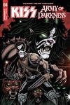 KISS Army Of Darkness #4 Cover C Variant Ken Haeser Catman Cover
