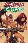 Red Sonja Tarzan #1 Cover A Regular Adam Hughes Cover