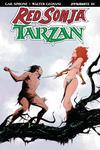 Red Sonja Tarzan #1 Cover B Variant Jae Lee Cover