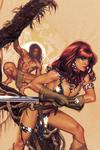 Red Sonja Tarzan #1 Cover J Incentive Adam Hughes Virgin Cover