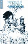Xena Vol 2 #4 Cover E Incentive Ig Guara Black & White Cover