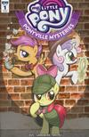 My Little Pony Ponyville Mysteries #1 Cover D Incentive Brenda Hickey Variant Cover