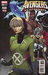 Avengers Vol 6 #680 Cover C 2nd Ptg Variant Aaron Kim Jacinto Cover (No Surrender Part 6)(Marvel Legacy Tie-In)