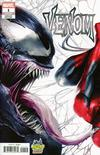 Venom Vol 4 #1  Midtown Exclusive Francesco Mattina & Will Sliney Connecting Variant Cover (Left Side)