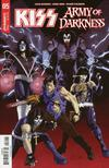 KISS Army Of Darkness #5 Cover B Variant Ruairi Coleman Cover