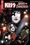 KISS Army Of Darkness #5 Cover C Variant Ken Haeser Starchild Cover
