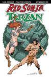 Red Sonja Tarzan #2 Cover A Regular Aaron Lopresti Cover