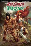 Red Sonja Tarzan #2 Cover C Variant Sergio Davila Cover