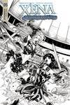 Xena Vol 2 #5 Cover D Incentive Vicente Cifuentes Black & White Cover