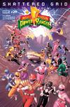 Mighty Morphin Power Rangers (BOOM Studios) #29 Cover A Regular Jamal Campbell Cover (Shattered Grid Part 5)