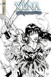 Xena Vol 2 #6 Cover D Incentive Vicente Cifuentes Black & White Cover