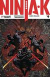 Ninja-K #9 Cover E Incentive Adam Pollina Ninjak Icon Variant Cover