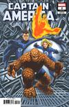 Captain America Vol 9 #2 Cover B Variant Travis Charest Return Of The Fantastic Four Cover