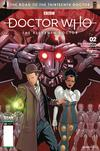 DOCTOR WHO ROAD TO 13TH DR #2 11TH CVR C QAULANO