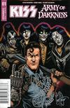 KISS Army Of Darkness #1 Cover I Ken Haeser Demon Head Original Remarked Sketch Edition