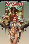 Red Sonja Tarzan #4 Cover D Variant Roberto Castro Subscription Cover