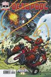 Deadpool Vol 6 #4 Cover B Variant Todd Nauck Cosmic Ghost Rider VS Cover