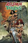 Red Sonja Tarzan #5 Cover D Variant Roberto Castro Subscription Cover