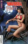 Vampirella Dejah Thoris #1 Cover H Incentive Vampirella Seduction Variant Cover