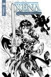 Xena Vol 2 #8 Cover C Incentive Vicente Cifuentes B Black & White Cover