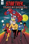 Star Trek vs Transformers #1 Cover D Incentive Derek Charm Variant Cover