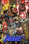 Avengers Vol 7 #1 Cover K 3rd Ptg Variant Ed Mcguinness Cover