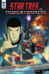 Star Trek vs Transformers #2 Cover B Variant Marcelo Ferreira Cover