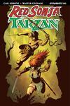 Red Sonja Tarzan #6 Cover A Regular Walter Geovani Cover