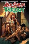 Red Sonja Tarzan #6 Cover B Variant Sergio Davila Cover
