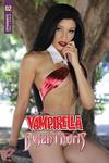 Vampirella Dejah Thoris #2 Cover E Variant Vampirella Cosplay Photo Cover