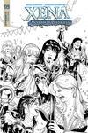 Xena Vol 2 #9 Cover E Incentive Vicente Cifuentes A Black & White Cover