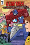 Star Trek vs Transformers #2 Cover C Incentive Derek Charm Variant Cover