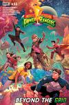 Mighty Morphin Power Rangers (BOOM Studios) #33 Cover A Regular Jamal Campbell Cover (Shattered Grid Tie-In)