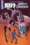 KISS Army Of Darkness #1 Cover K Signed By Gene Simmons