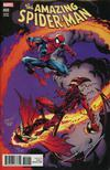 Amazing Spider-Man Vol 4 #800 Cover Z-F DF Signed By Mark Bagley