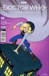 Doctor Who 13th Doctor #3 Cover C Variant Rachael Stott Cover