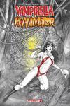 Vampirella vs Reanimator #1 Cover C Variant Blacky Shepherd Cover