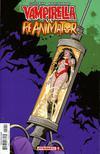 Vampirella vs Reanimator #1 Cover E Incentive Vampirella Seduction Color Variant Cover
