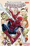 Amazing Spider-Man Vol 4 #800 Cover Z-H DF Variant Greg Land Cover Gold Signature Series Signed By Greg Land