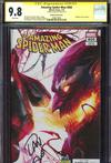 Amazing Spider-Man Vol 4 #800  Midtown Exclusive Francesco Mattina & Will Sliney Connecting Cover Signed By Dan Slott CGC 9.8 (Right Side)