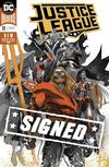 Justice League Vol 4 #10 Cover D Regular Francis Manapul Enhanced Foil Cover Signed By Scott Snyder (Drowned Earth Prelude)
