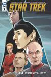 Star Trek Q Conflict #1 Cover A Regular David Messina Cover